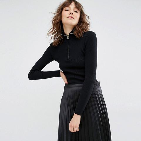 Amira Ribbed Pullover