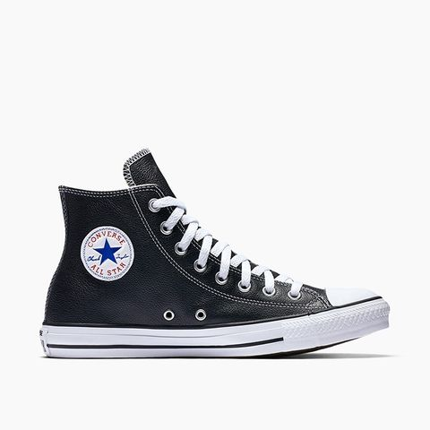Chuck Taylor All Star Leather Unisex High Top Shoe