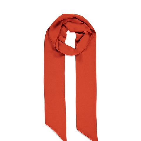 Woven Skinny Scarf