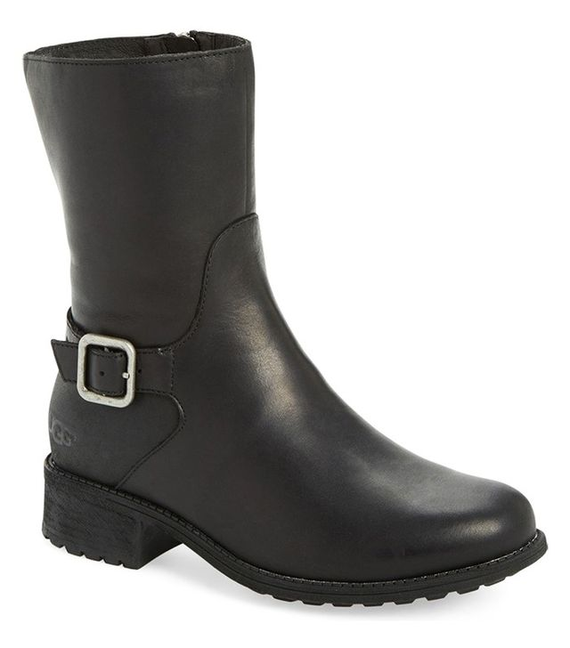 UGG Keppler Genuine Shearling Lined Moto Boot