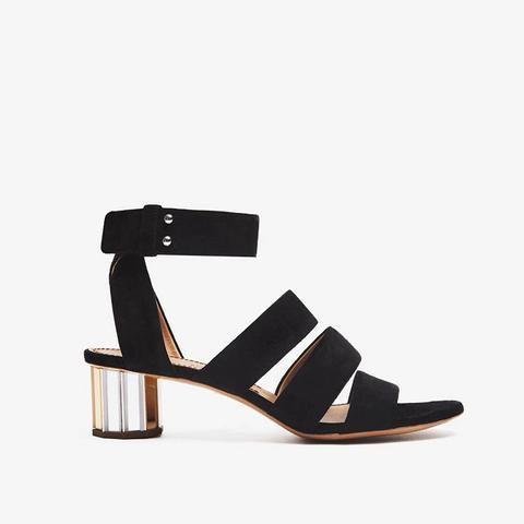 Triple Strap Heel