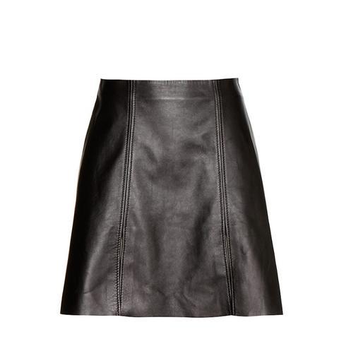 Leala Leather Skirt