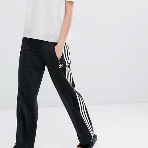 Originals Three Stripe Wide Leg Trousers