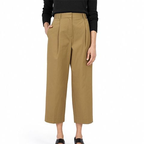 The Twill Crop Pant