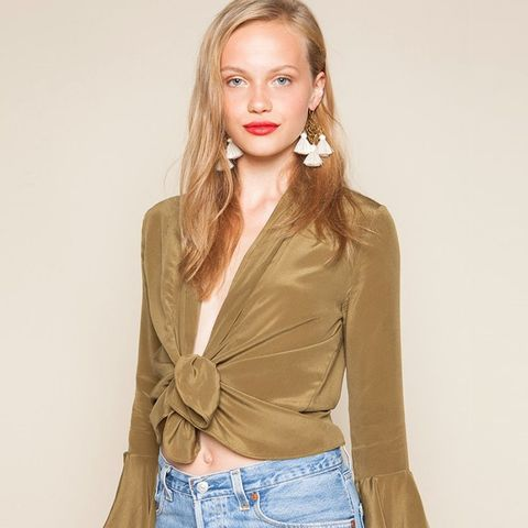 Radical Blouse in Olive