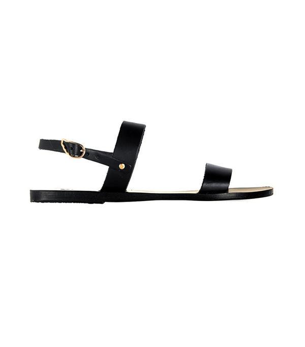 Ancient Greek Clio Leather Sandals