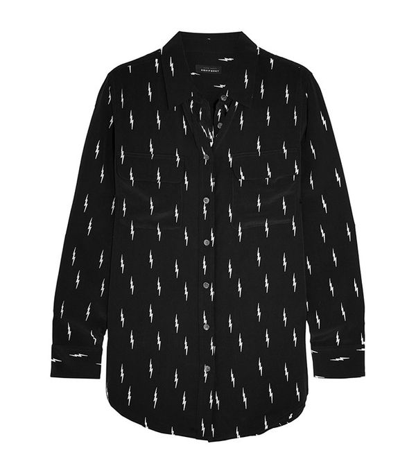 Kate Moss for Equipment Slim Signature Shirt