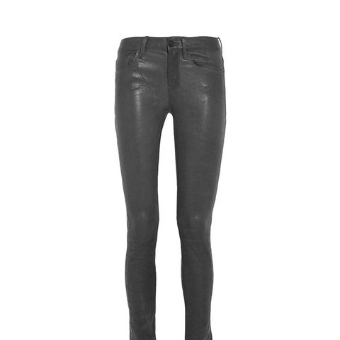 Le Skinny Stretch Leather Pants