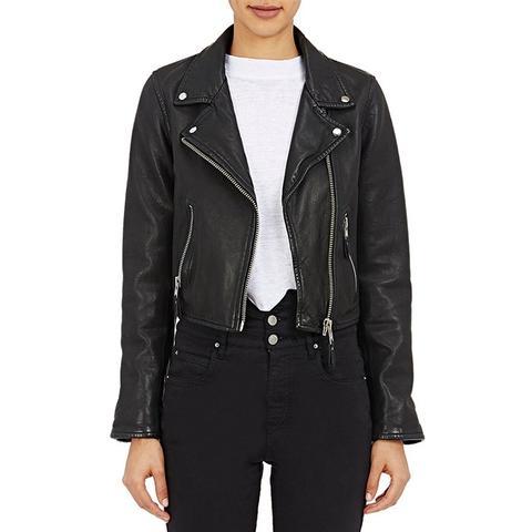 Leather Barry Moto Jacket