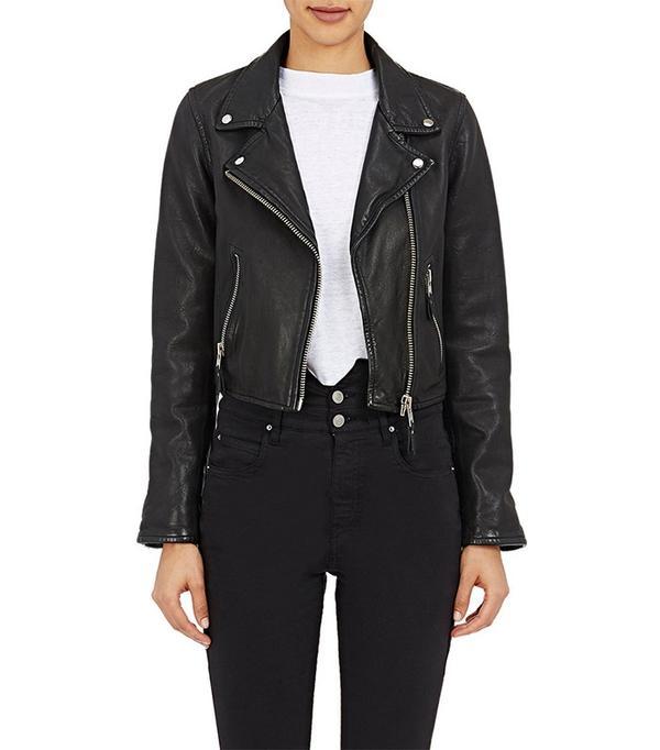 Isabel Marant Étoile Leather Barry Moto Jacket