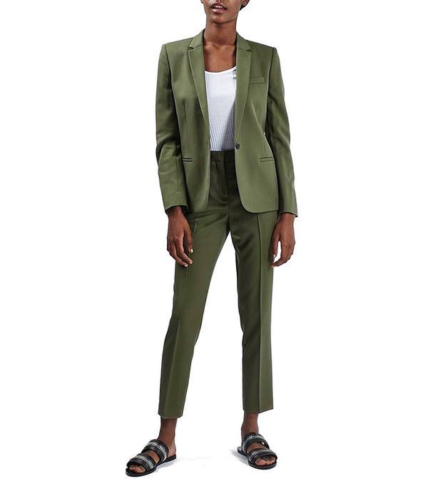 Topshop Premium Suit Blazer and Trousers
