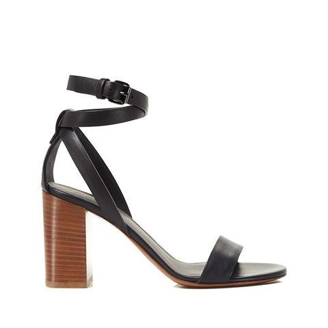 Farley Block Heel Ankle Strap Sandals
