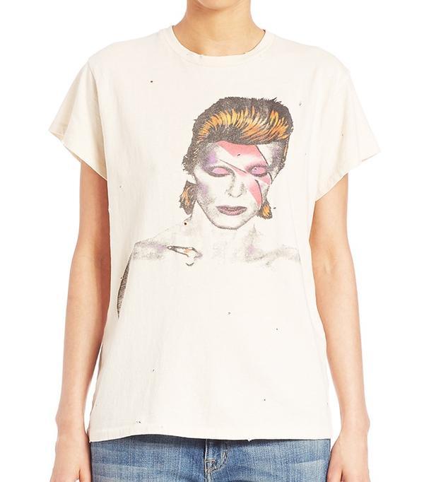 Madeworn David Bowie Graphic Tee