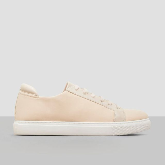 Kennth Cole Kam Neoprene and Leather Sneakers