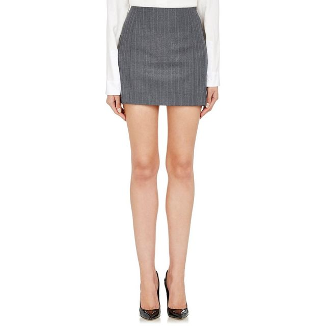 Pallas Pinstriped Miniskirt