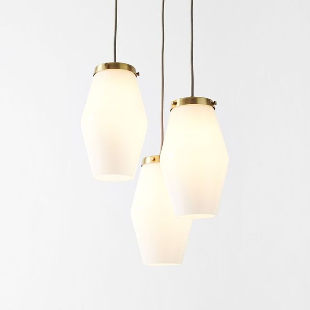 West Elm Mid-Century Glass Pendant