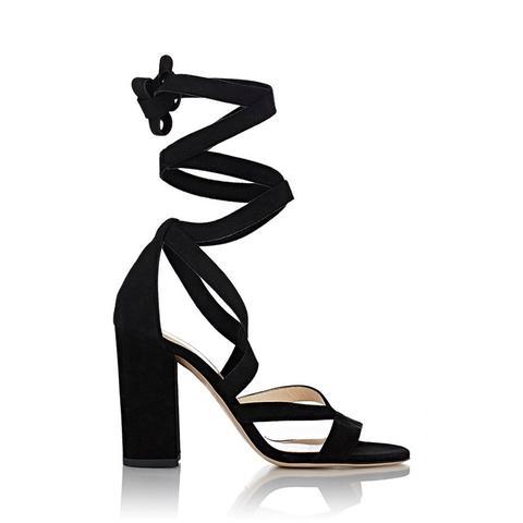 Zea Ankle-Wrap Sandals