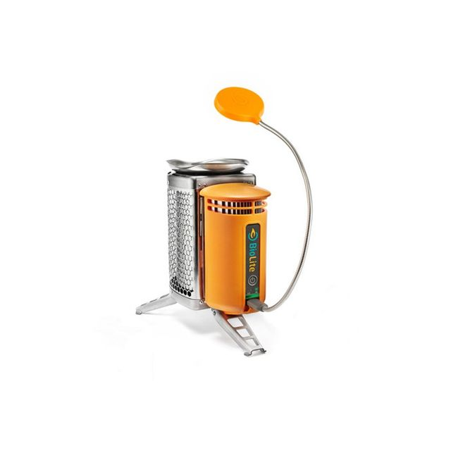 BioLite Fuel Electric CampStove Orange & Silver