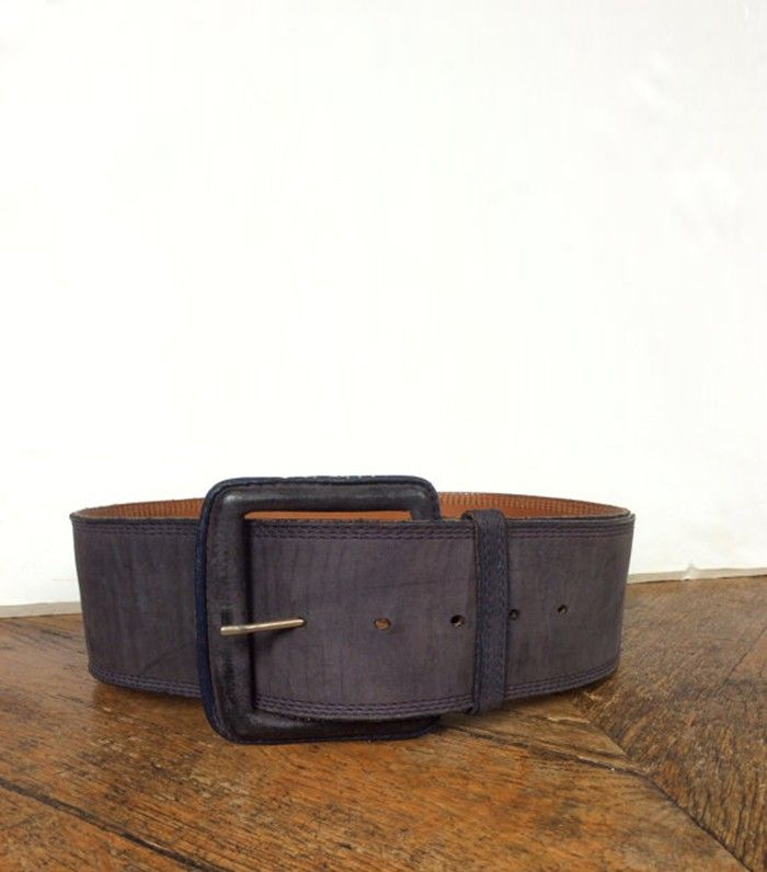 Carlos Falchi Leather Belt