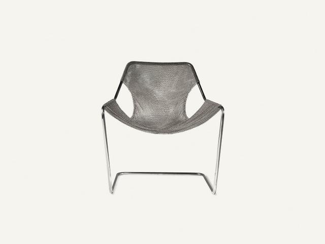 Objekto Paulistano Arm Chair in Steel Mesh