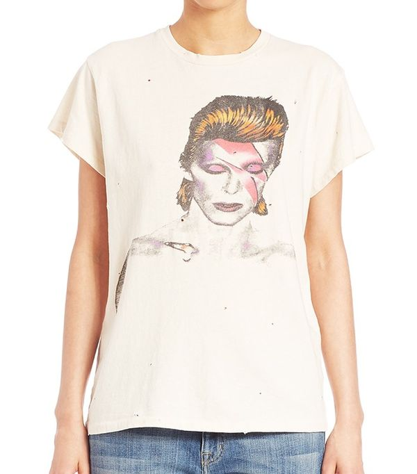 Madeworn David Bowie Graphic Tee