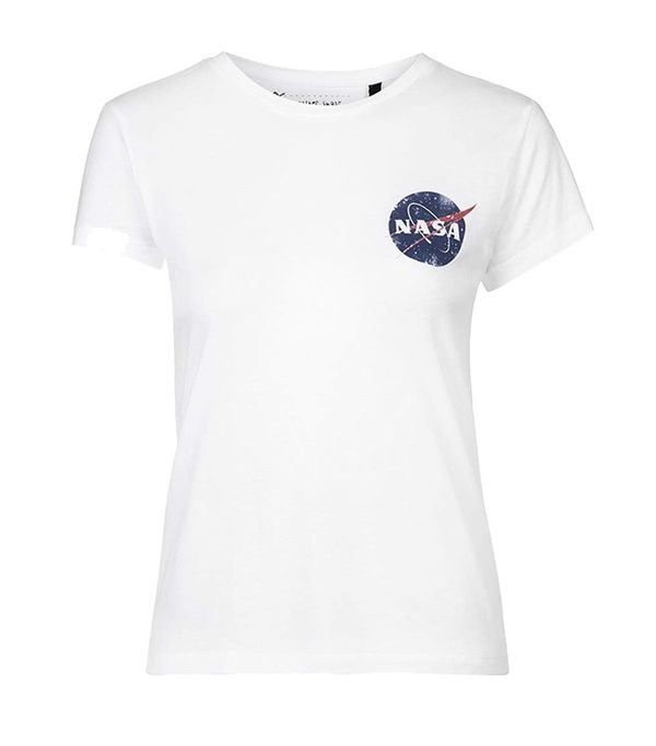 Tee and Cake NASA Distressed Tee