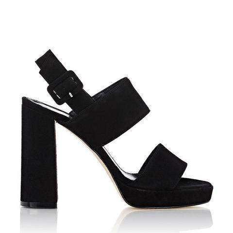 Double-Band Platform Sandals