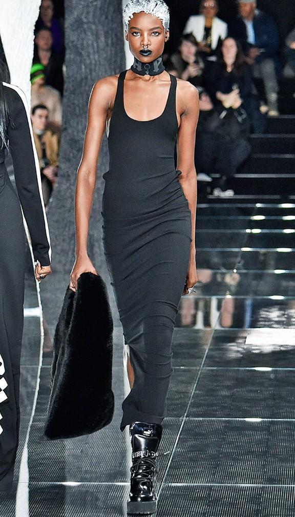 The Long Black Dress