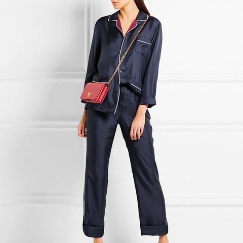 Silk Twill Pajama Set