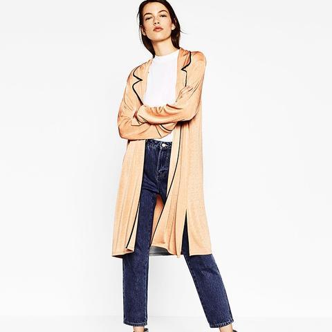 Pajama-Style Jacket