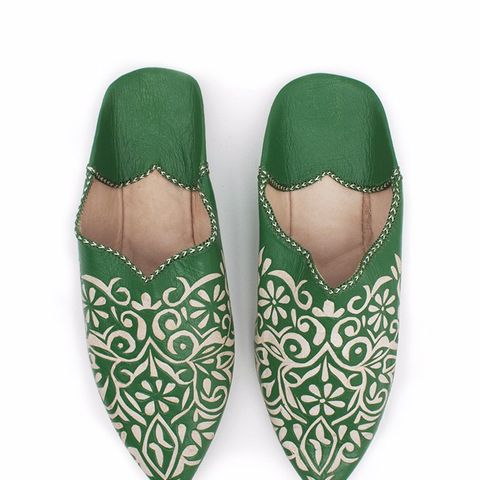 Decorative Babouche Slippers