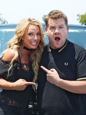 """Watch Britney Spears Sing """"Toxic"""" on Carpool Karaoke"""