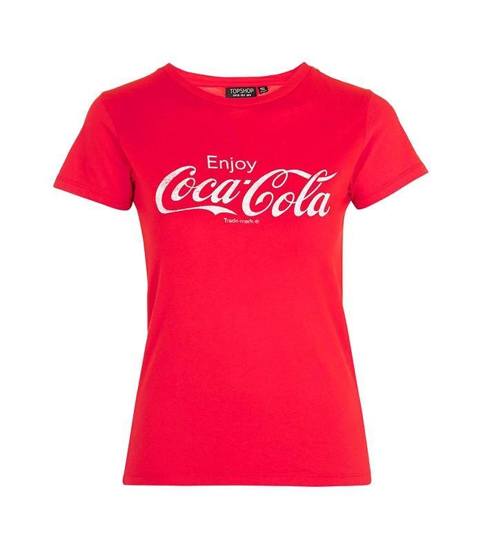 Topshop Coca Cola T-shirt
