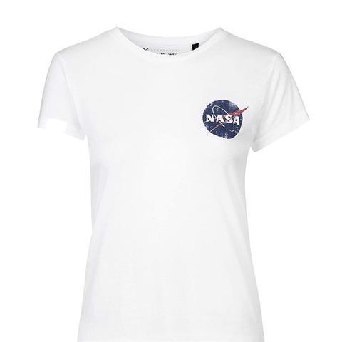 NASA Distressed Tee