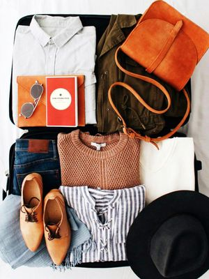 Watch a Vacationer Pack 100 Items in Her Carry-On