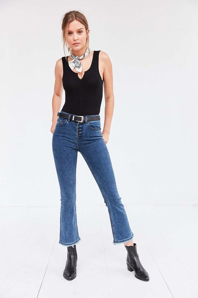 BDG Sharona High-Rise Crop Flare Jeans