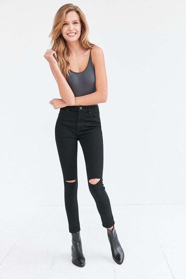 BDG Twig Ripped High-Rise Skinny Jeans