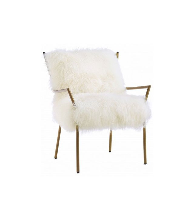 Coleman Furniture Lena Sheepskin Chair