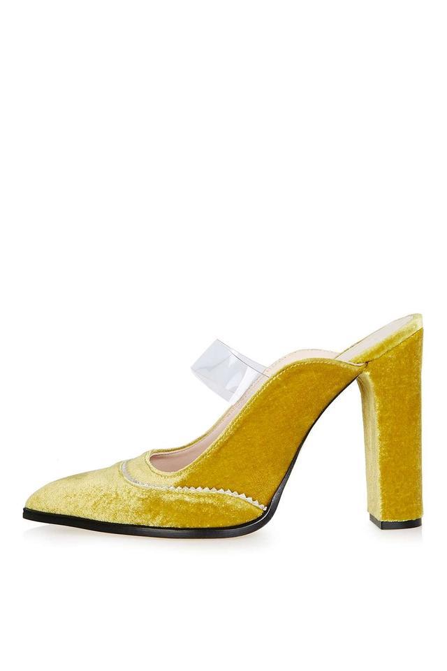 Topshop Unique Valiant Mule Pointed Court Shoes