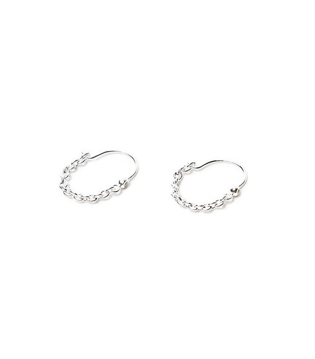 Pamela Love Suspension Hoop Earrings