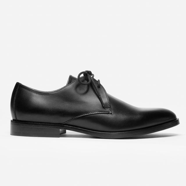 Everlane The Modern Oxford in Black