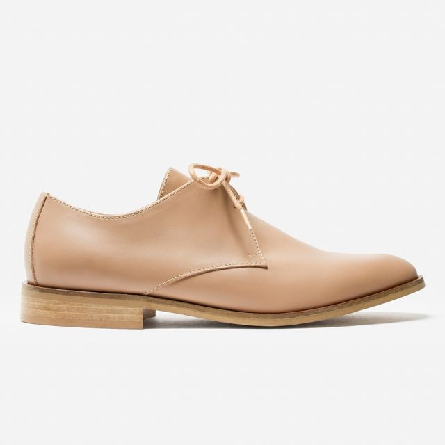 Everlane The Modern Oxford in Blush