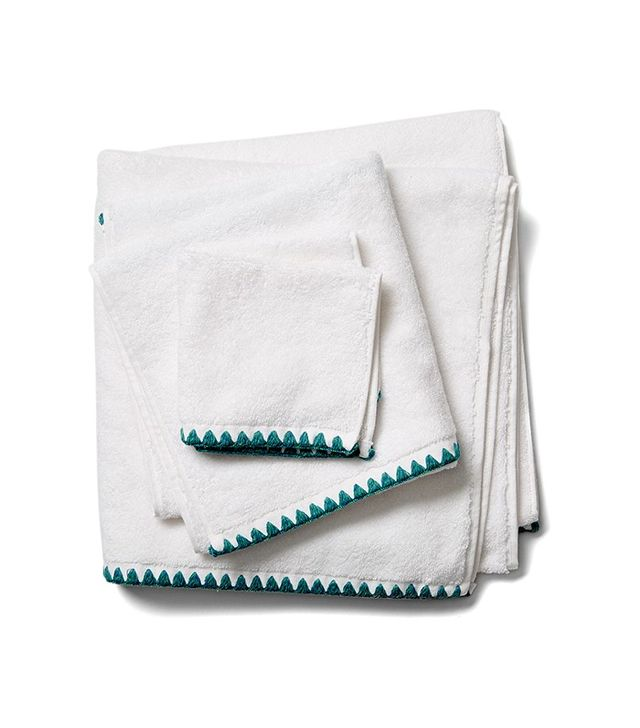 One Kings Lane Ombre Triangle Stitch Towel Set