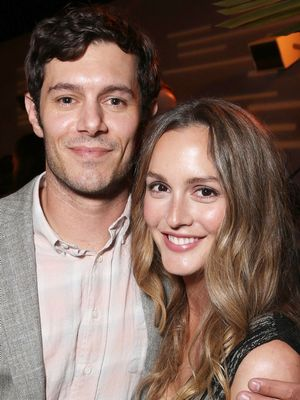Leighton Meester and Adam Brody Had a Rare Red Carpet Date Night