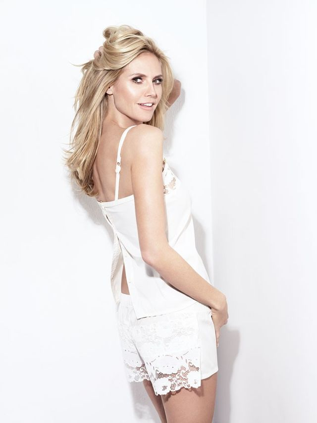 WWW: How do you start designing each lingerie collection? HEIDI KLUM: I always focus on designing really great shapes and fits. For me, it's is the most important part. I meet with my...