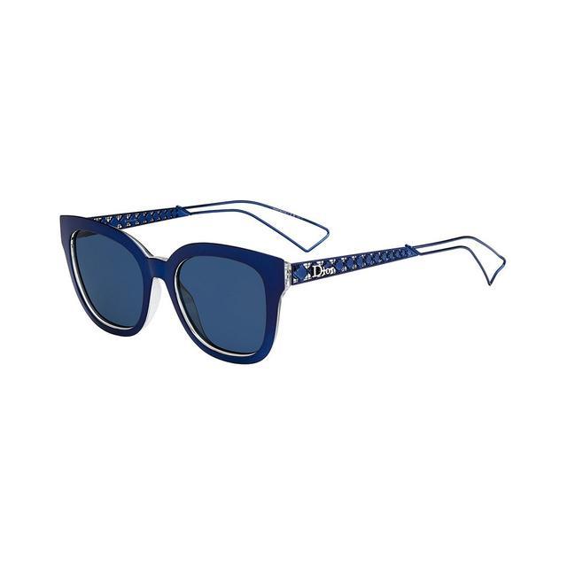 Dior Diorama Caged Monochromatic Sunglasses