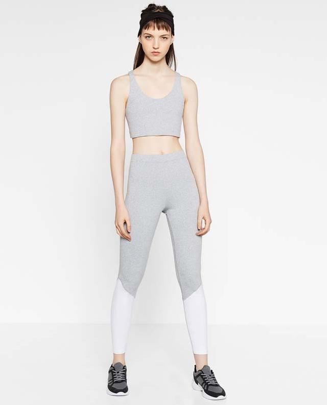 Zara Color Contrast Leggings