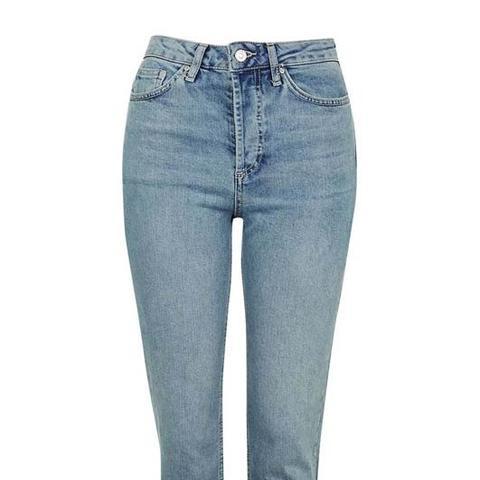 Step Hem Straight Leg Jeans