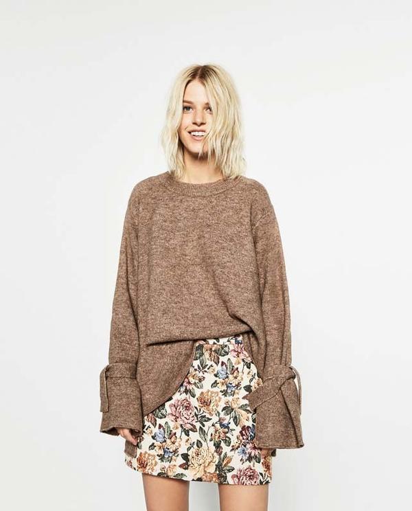 Zara Short Tapestry Skirt