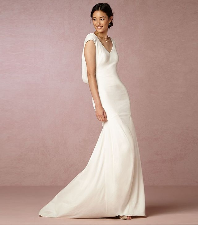 Theia Ingrid Velvet Gown